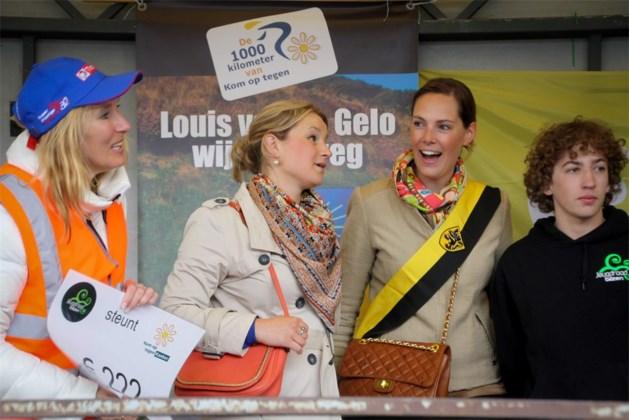 Jeugdraad Bilzen steunt de 1000 km van Kom op tegen Kanker