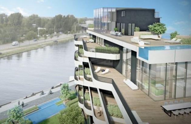 1.5 miljoen euro voor penthouse met zicht op kanaalkom