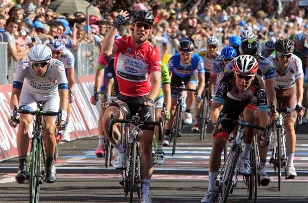 Cavendish opnieuw de snelste in Giro