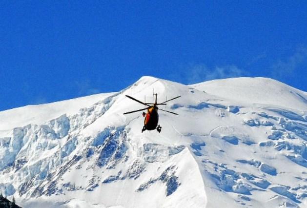 Skiër maakt dodelijke val in Mont Blancmassief