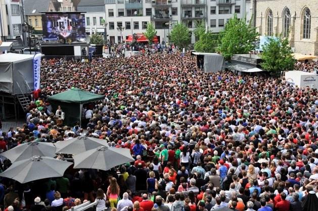 5.000 uitgelaten fans vieren Essevee in Waregem