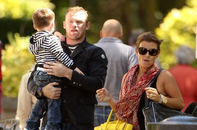 Wayne Rooney is voor de tweede keer papa