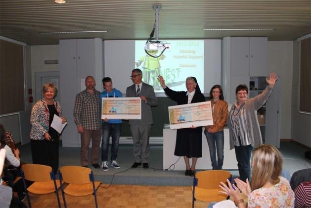 Sint-Jozefinstituut zamelt €11.000 in voor het goede doel