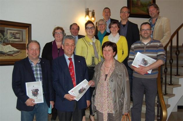UNIZO-Hamont-Achel & Ondernemersclub Hamont-Achel in gesprek met het schepencollege