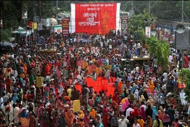 Fabrieken sluiten na sociale onrust in Bangladesh