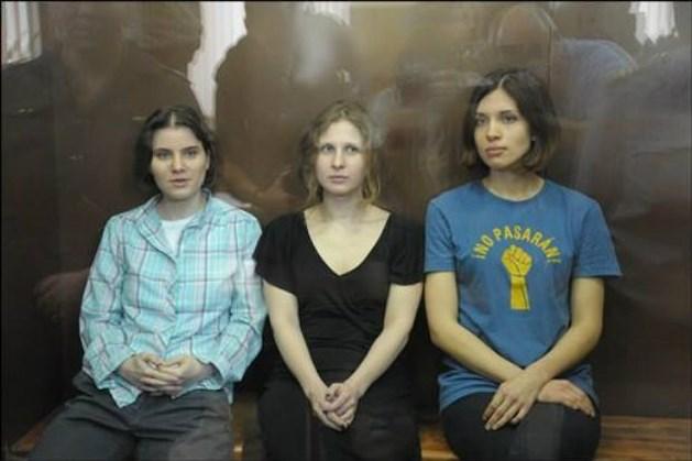 Lid 'Pussy Riot' gaat in hongerstaking