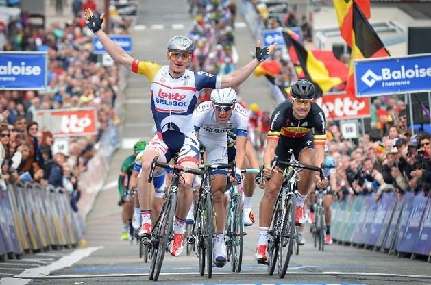 Greipel klopt Boonen in Ronde van België