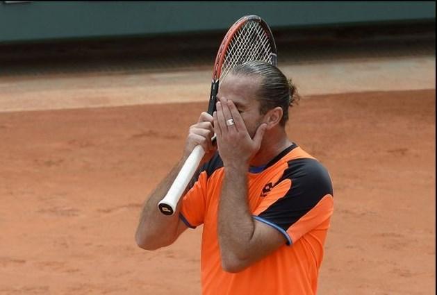 Malisse niet naar tweede ronde Roland Garros