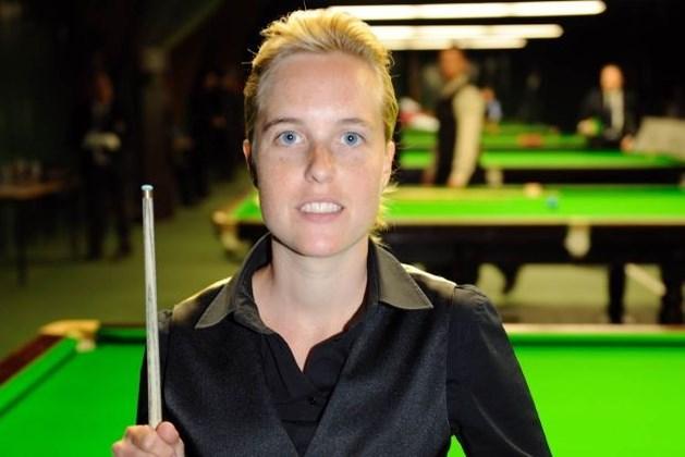Wendy Jans opnieuw Belgisch kampioene snooker