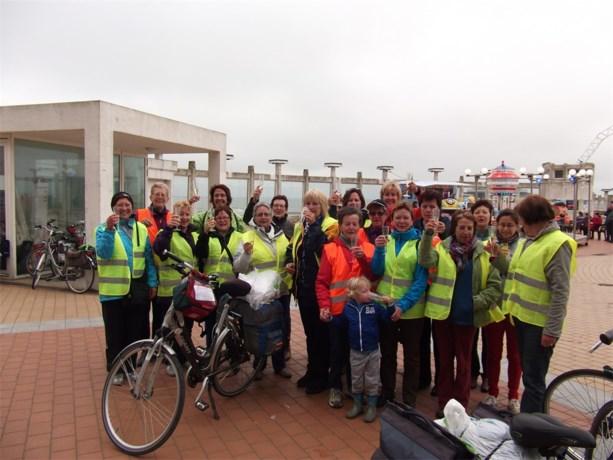 KVLV dames fietsen naar Zee