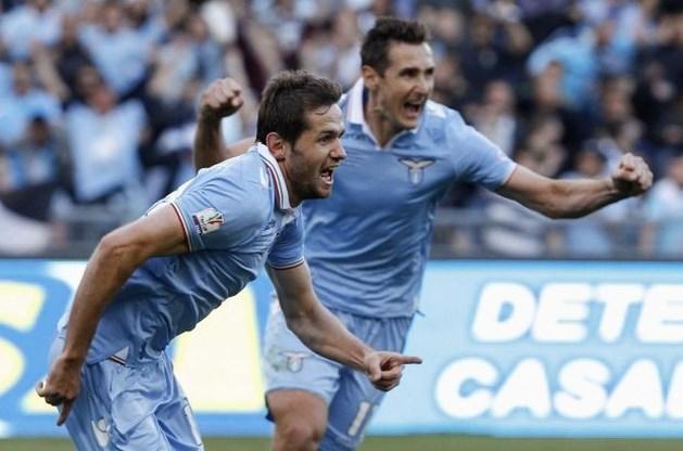 Lazio wint Romeins onderonsje in Italiaanse bekerfinale