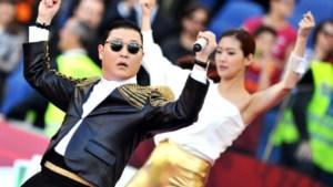 PSY uitgejouwd tijdens optreden in Rome (video)