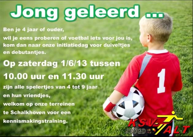 Kennismaking jeugdvoetbal in Hoeselt
