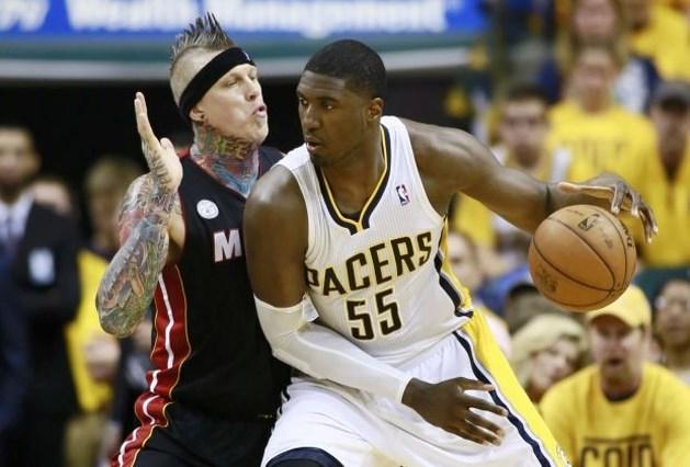 Indiana Pacers kloppen Miami Heat en trekken stand gelijk
