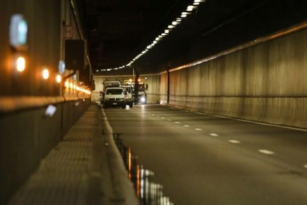 Brusselse Montgomery-tunnel blijft ook vandaag dicht