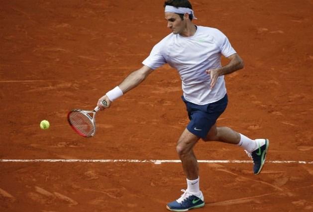 Vlotte zeges voor Federer en Serena Williams, Wozniacki uitgeschakeld