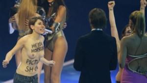 Femen verstoort