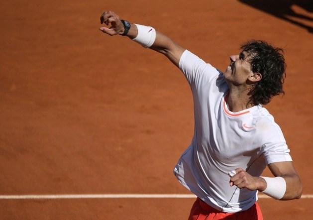 Rafael Nadal voorbij Novak Djokovic naar finale