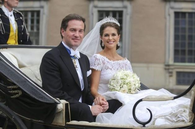 Zweedse prinses Madeleine en Amerikaanse bankier Chris O'Neill getrouwd