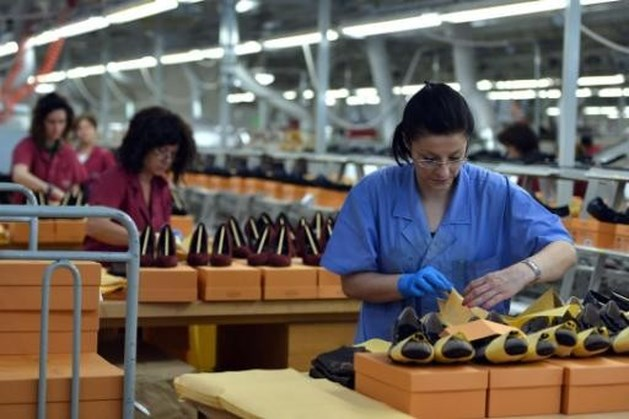 Licht lagere groei Chinese industrie
