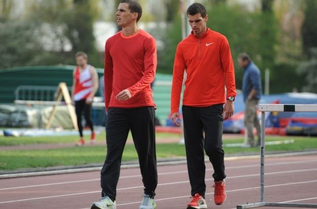 Jonathan Borlée derde op 200 meter in Rabat, Kevin zesde