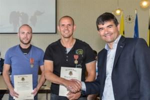 Burgerlijke Medaille 3de klasse voor moedige mannen