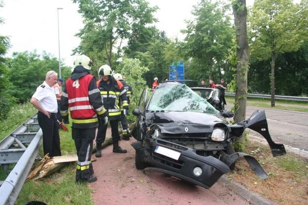 Vrouw zwaargewond na slippartij in Beringen