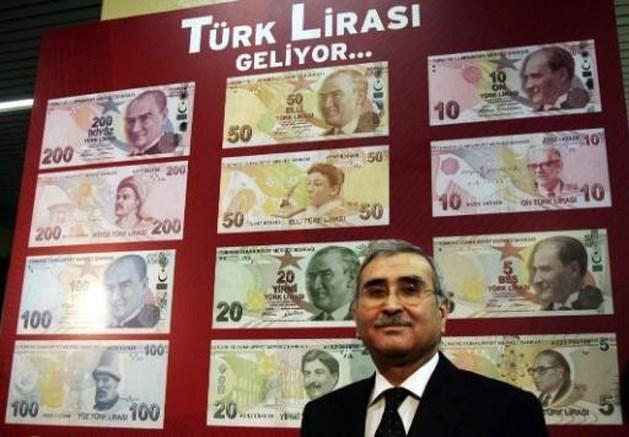 Turkse lira op recordlaagte