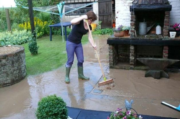 Hevige regenval veroorzaakt wateroverlast