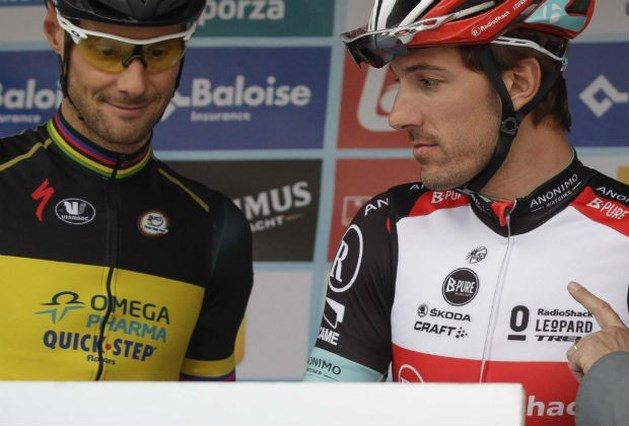 Ook Cancellara past voor Tour