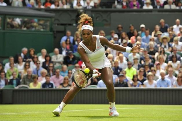 Titelverdedigster Serena Williams naar tweede ronde