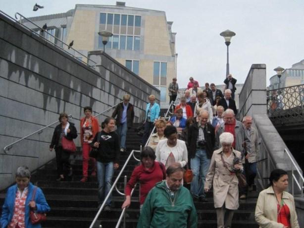 Doppahuis bedankt vrijwilligers met uitstap naar Luik