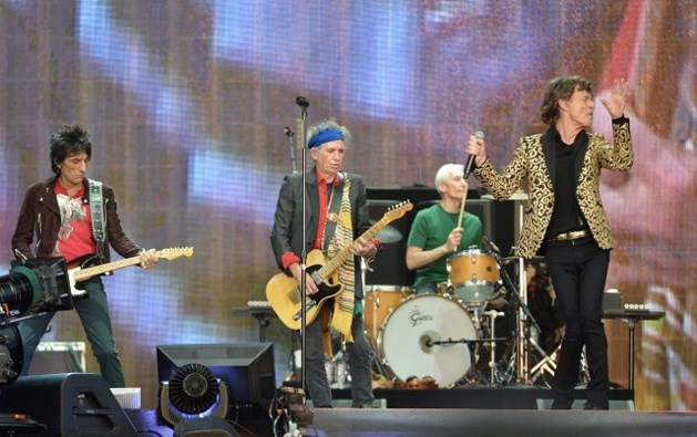 Rolling Stones palmen 44 jaar later Hyde Park weer in