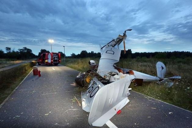 Oldtimer sportvliegtuig crasht op Opglabbekerzavel