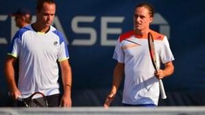 Malisse uitgeschakeld in eerste ronde dubbelspel US Open