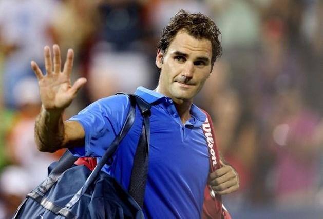 Federer druipt af op US Open, Nadal wel door