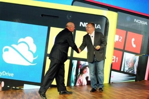 Microsoft neemt kernactiviteiten Nokia over: aandeel Nokia bijna helft hoger geopend