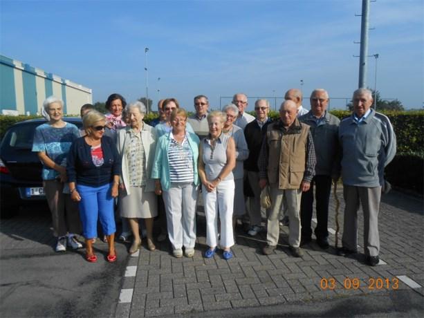 De gezondheidswandelaars vieren 5 jaar wandelen in Bree