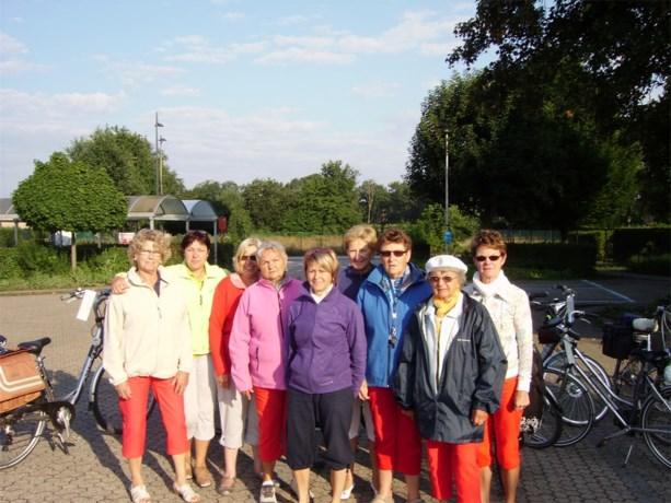 Koffietrappers fietsen van Eksel naar Roermond