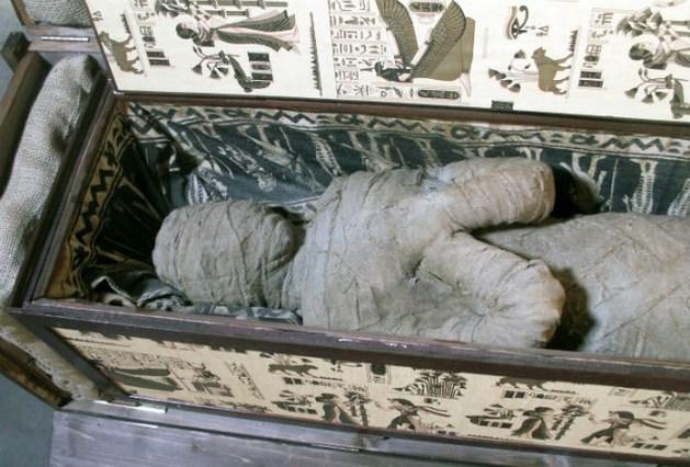 Duits jongetje vindt mysterieuze mummie op zolder