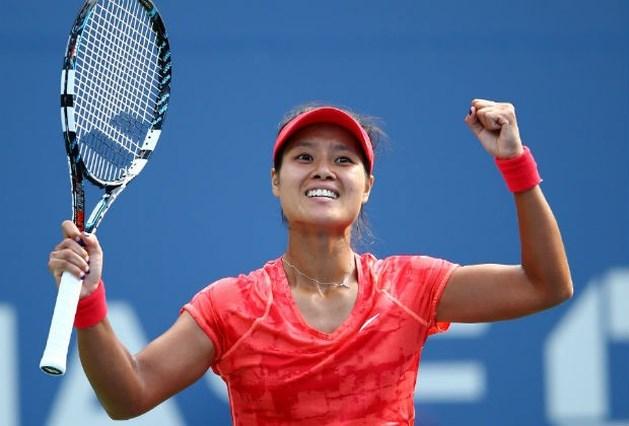 Li Na is eerste halvefinaliste in New York