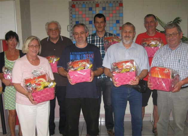 Scrabbleclub Littera huldigt kampioenen