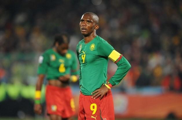 Samuel Eto'o wil niet langer voor Kameroen spelen