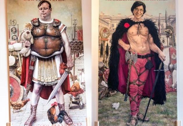 Verrassende staatsieportretten in kasteel Ordingen