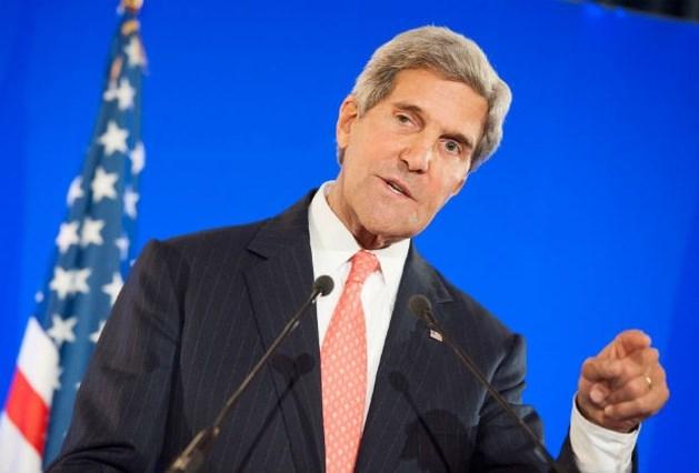 """Kerry: """"Assad moet binnen de week chemische wapens overhandigen"""""""