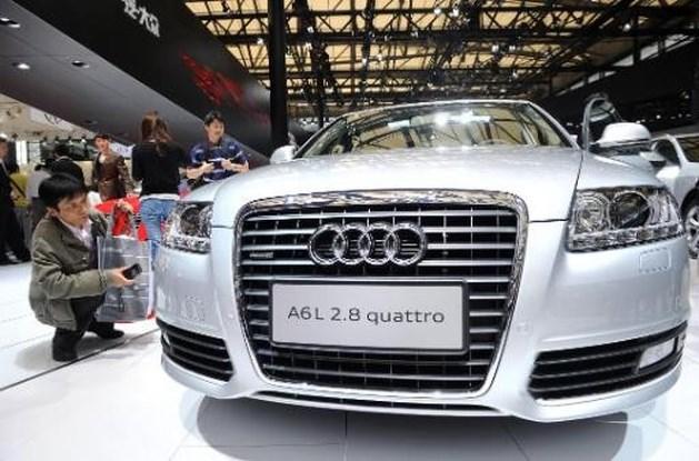 Audi verkocht al meer dan miljoen wagens, met dank aan China