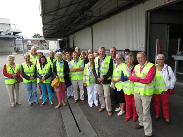 Okra St. Katarina bezoekt Veiling Haspengouw
