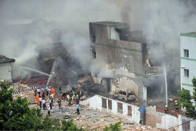 Zeven doden bij ontploffing in illegale Chinese speelgoedfabriek
