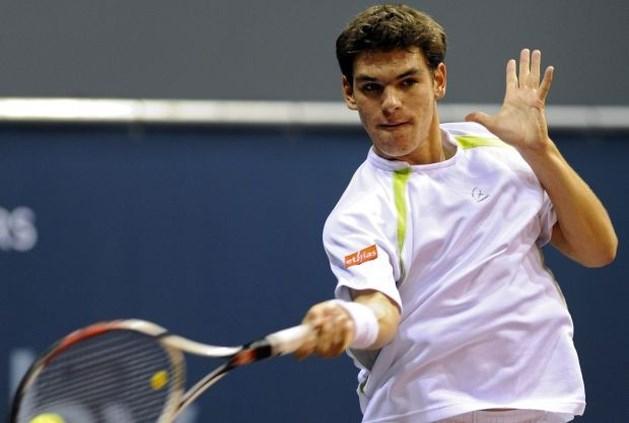 Germain Gigounon vervangt David Goffin in Davis Cup