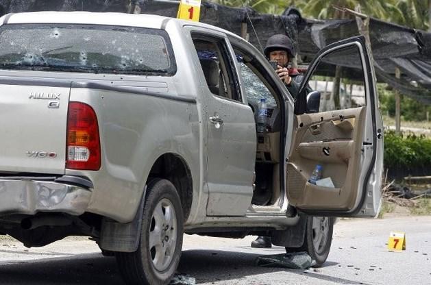 Vijf politieagenten op straat vermoord in Thailand